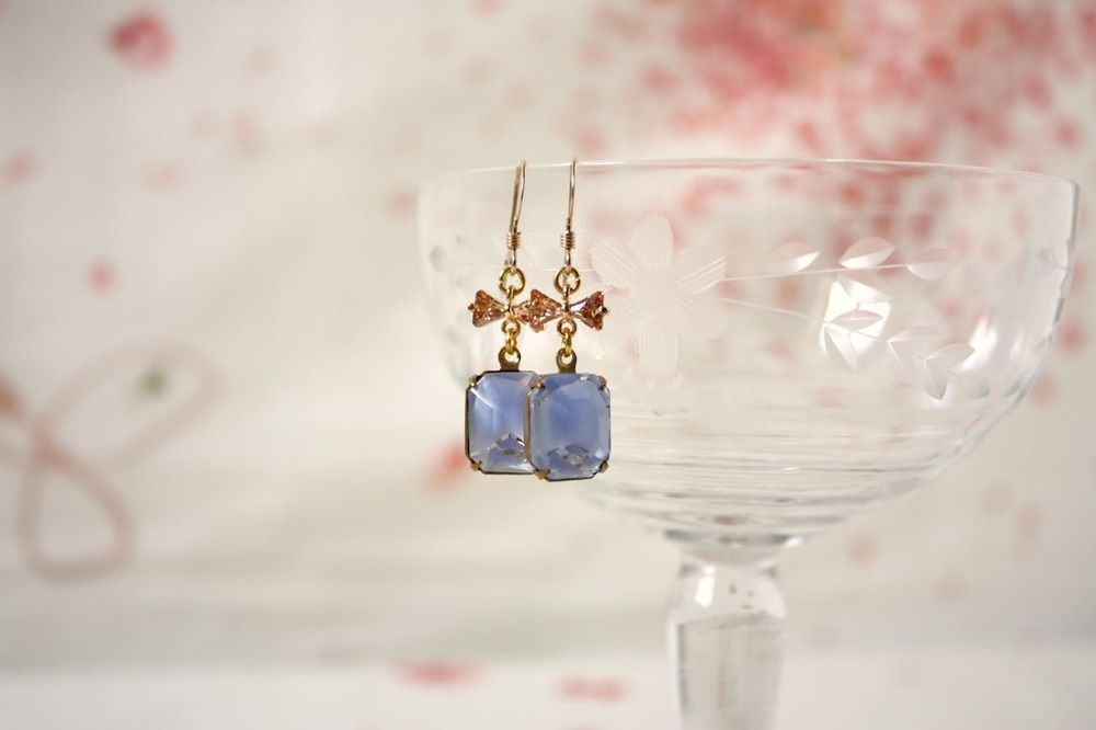 """✝ """"The Spellbound Shore"""", earrings ,"""