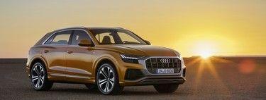 Probamos el impactante Audi Q8 un SUV de lujo diésel y mild hybrid para complementar al Q7