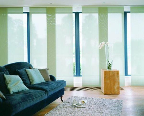 Sind Die Schiebegardinen Die Neue Moderne Fensterdeko Haus