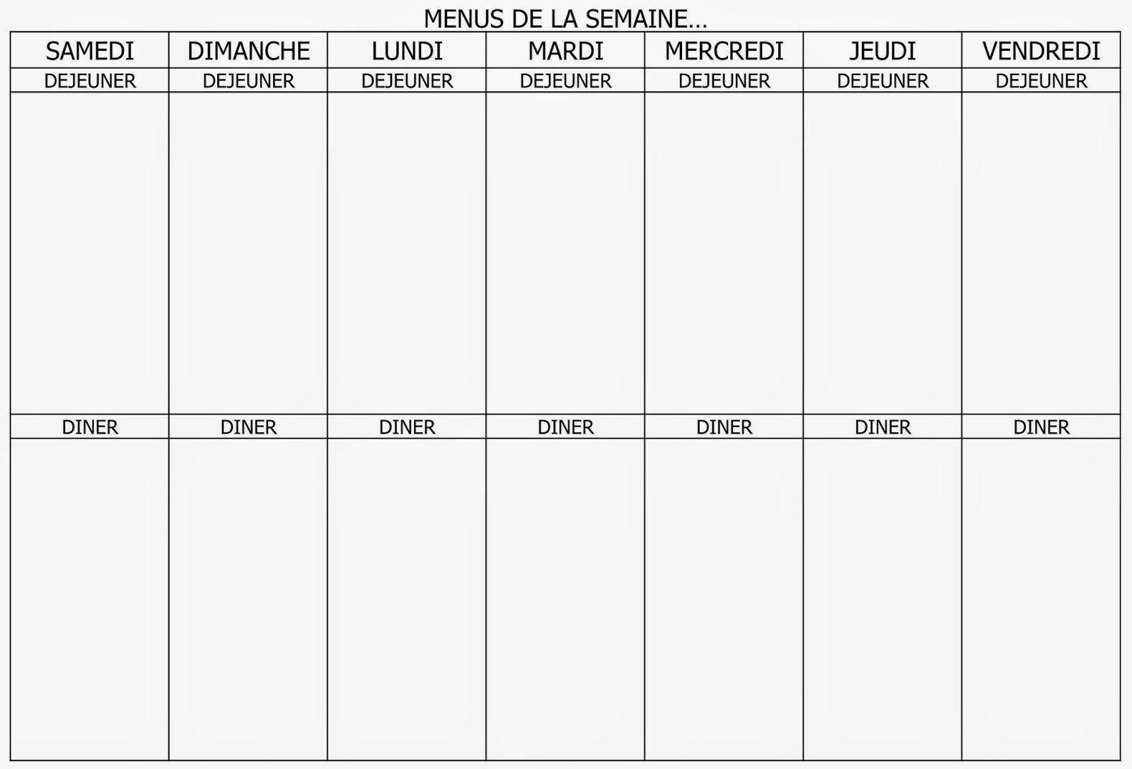 Planning Vierge Menu De La Semaine Recettes Cookeo Avec 6 Et Menu De La Semaine Imprimer 38 1600x1087px Menu De La Semaine Imprimer Marque Page Menu Tips