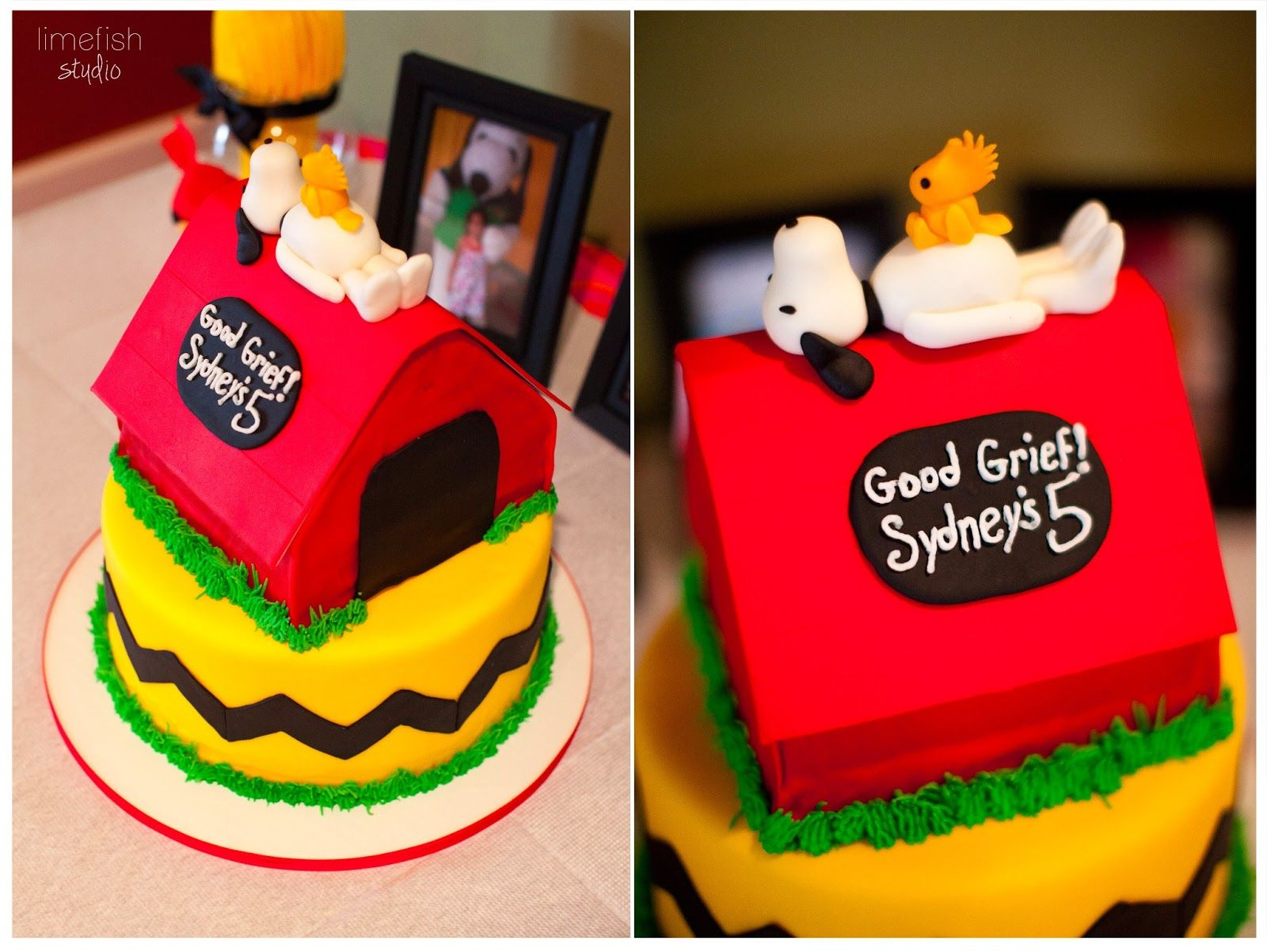 Festa do Snoopy Birthdays Cake and Snoopy party