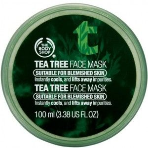 The Body Shop Tee Tree Oil Face Mask. I LOVED this stuff...my skin was immediately smooth