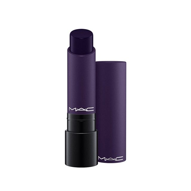 Liptensity Lipstick in Blue Beat: A Lipstick with enhanced amounts of pigment for extreme colour intensity. Provides vibrant, luxurious payoff in deep dark blue.