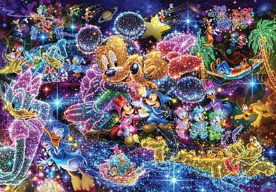 5D DIY Diamond Painting Cartoon Animals Colored Mouse Full Square Drill Mosaic  Rhinestones Stickers ff60682efbef