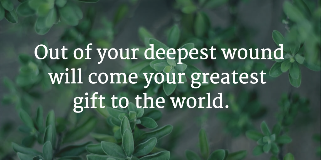 You heal it as a service to others, not just yourself. #mindfulness #meditation
