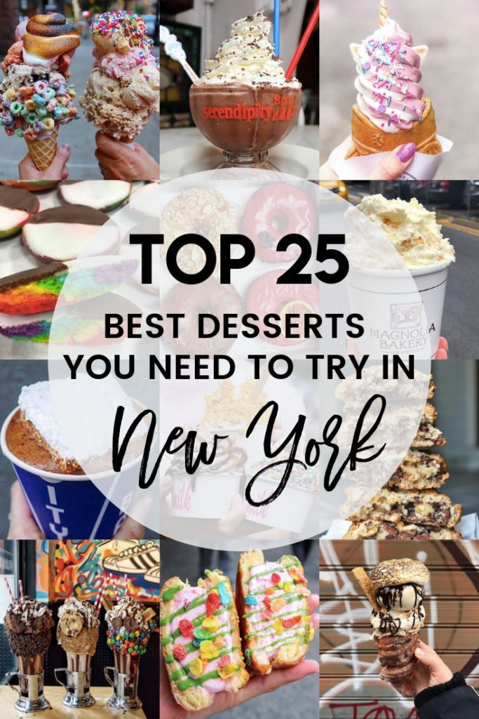 Photo of Best Desserts in NYC