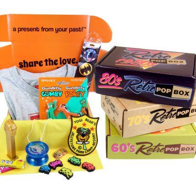 Retro Pop Box - Hello Subscription #retropop