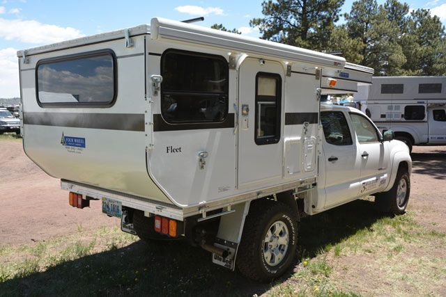 2013 Four Wheel Camper Fleet Flatbed Camper Adventure Campers