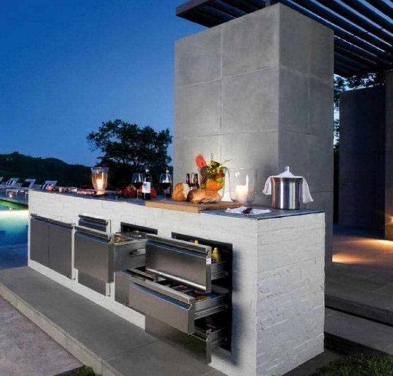 Modern Outdoor Kitchen Ideas Part - 25: Ideas For Outdoor Kitchens
