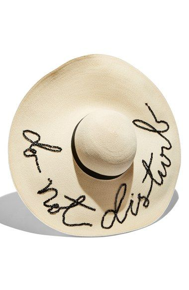 0ac3a327ebd59 Free shipping and returns on Eugenia Kim  Sunny - Do Not Disturb  Straw Sun  Hat at Nordstrom.com. A rich grosgrain band circles a floppy sun hat done  up in ...