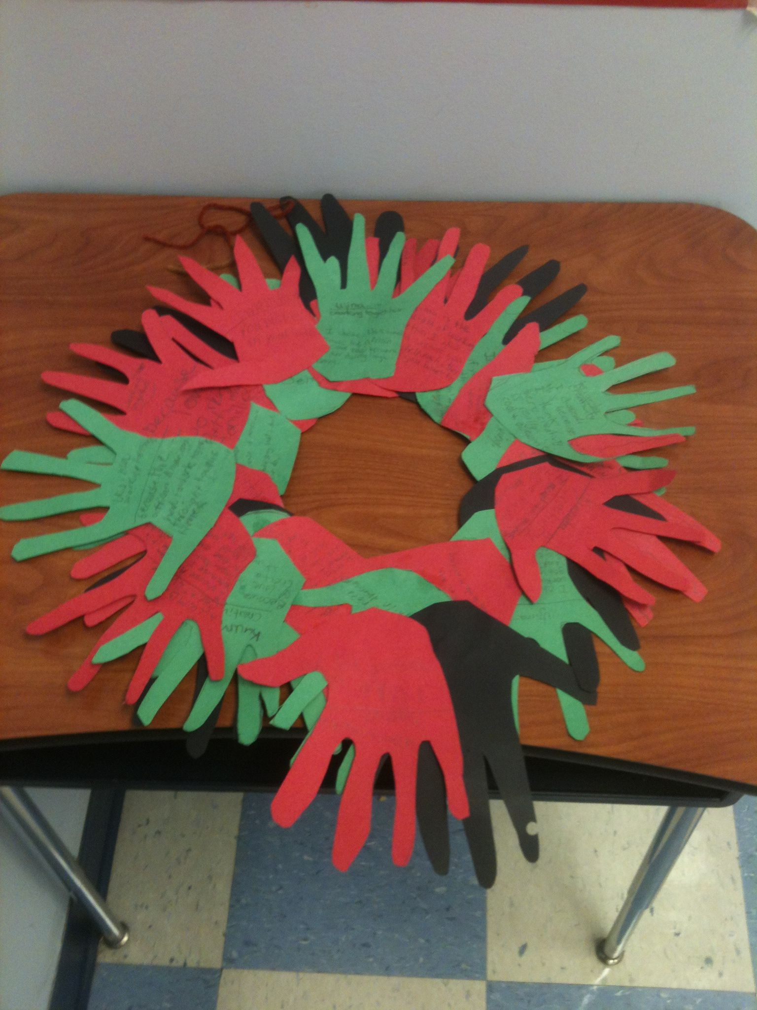 Kwanzaa Wreath Craft Project Scholastic Pinterestcom
