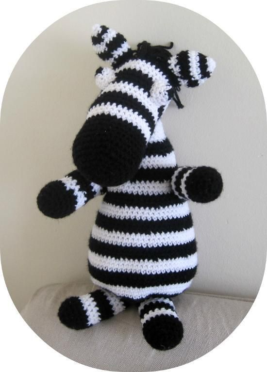 Zebra amigurumi pattern amigurumi patterns patterns and crochet zebra amigurumi pattern dt1010fo