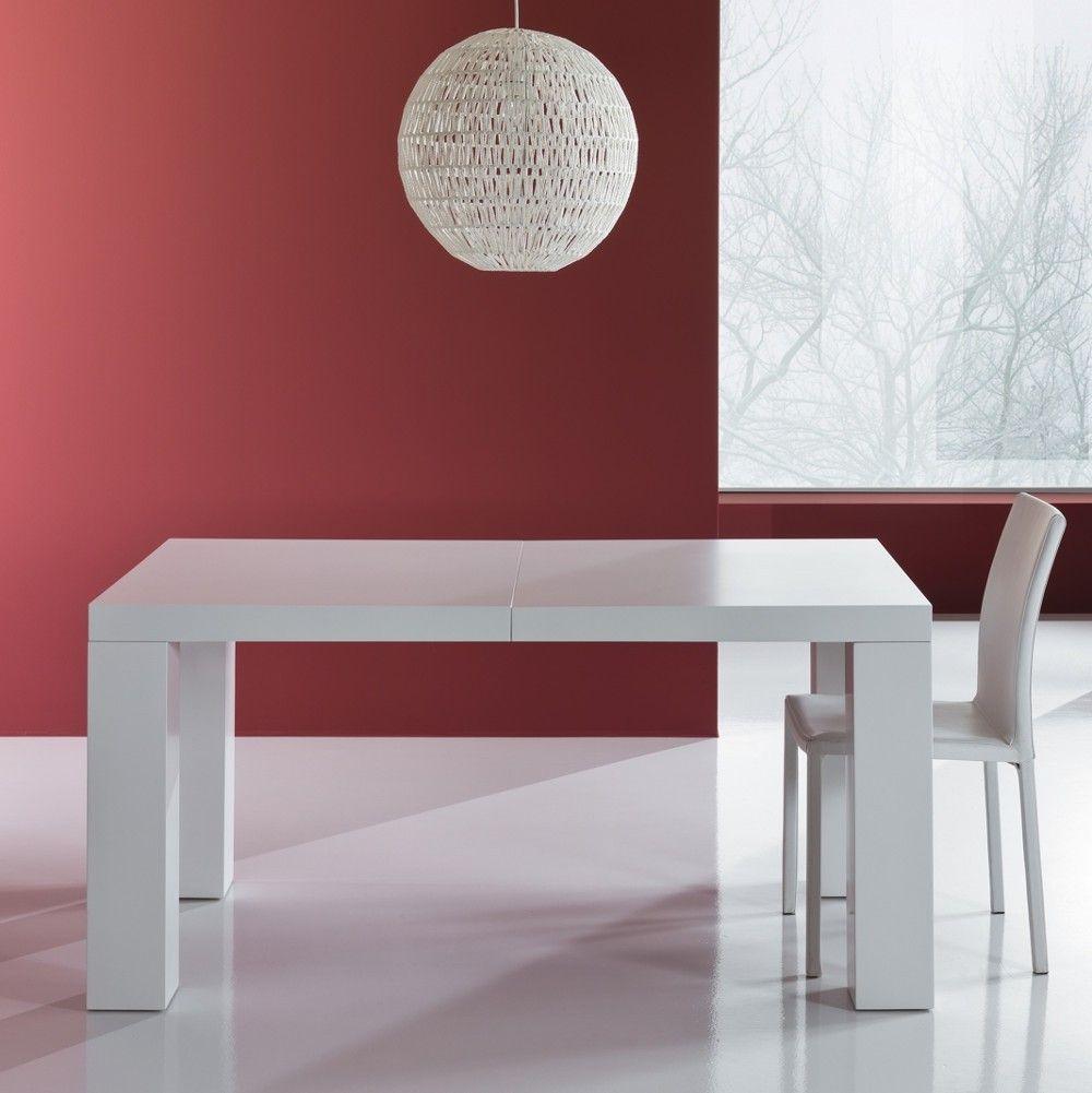 Tavolo Allungabile In Legno Mdf Aphex Bianco Opaco 250 Cm Aphex E Un Tavolo Da Pranzo Moderno All Tavolo Allungabile Tavolo Da Pranzo Moderno Tavolo Moderno