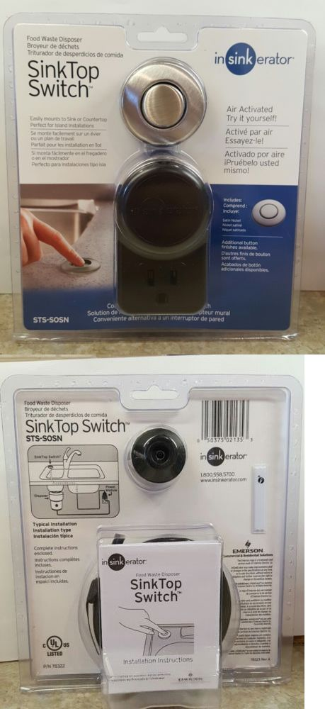 Garbage Disposals 42022: Insinkerator Sts Sosn Sink Top Switch New!Ships  Free!