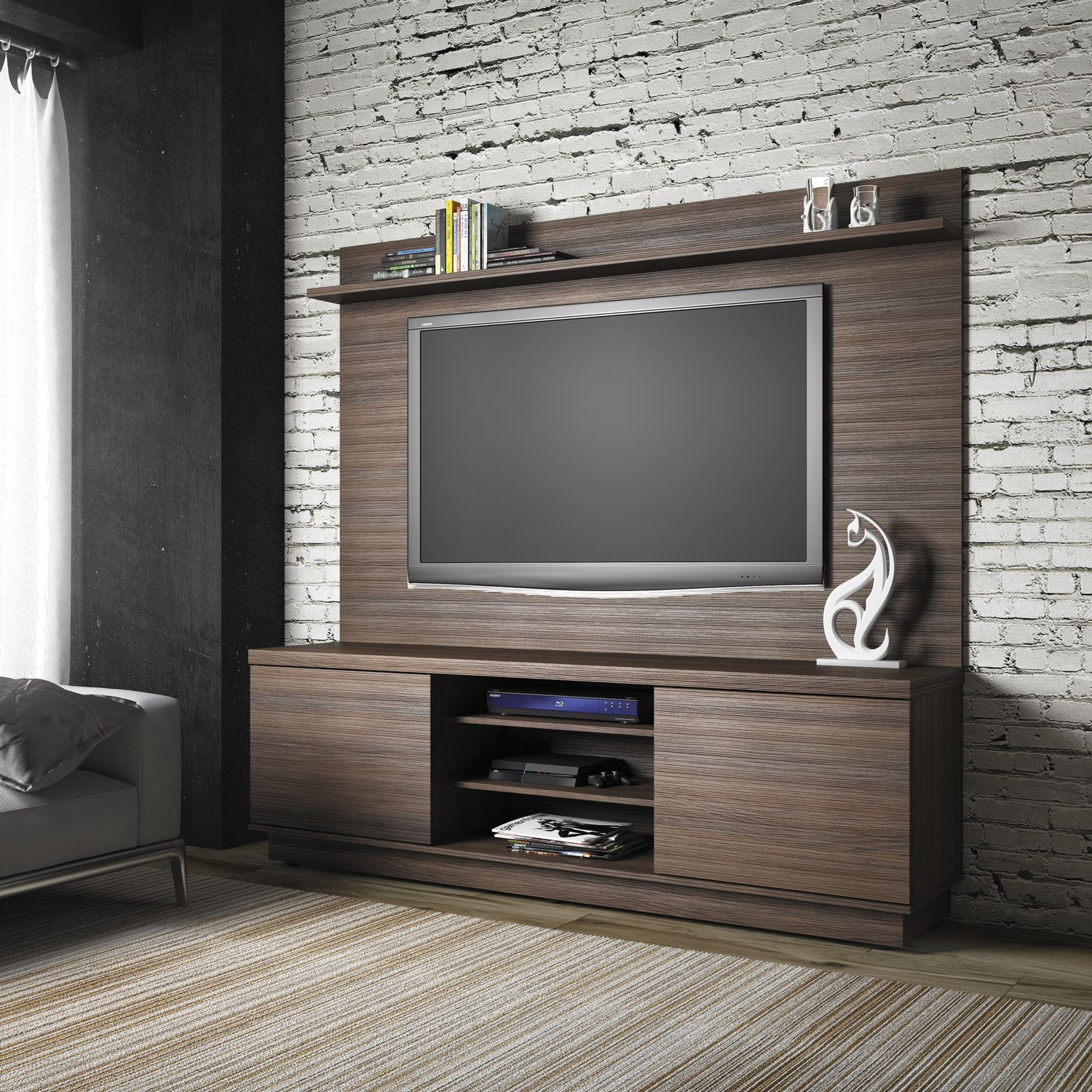 Dica Hometheater Ajuda Muito Com A Decora O E Facilita A  # Tv Showcase In Wall