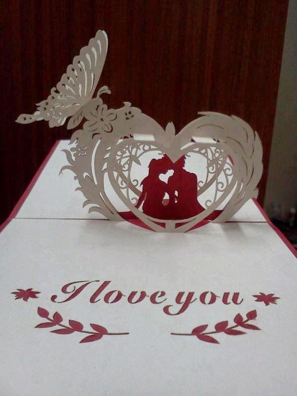 Lovekirigami Com Club Kirigami Download Patterns Paper Crafts Free Valentine Cards Papercraft Templates