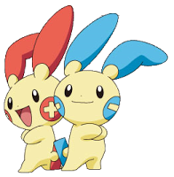 Plusle and Minun   Crochet To Do   Pikachu, Pokémon, Pokemon games