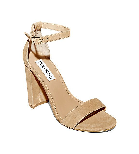 Ankle Strap Sandals in Leather
