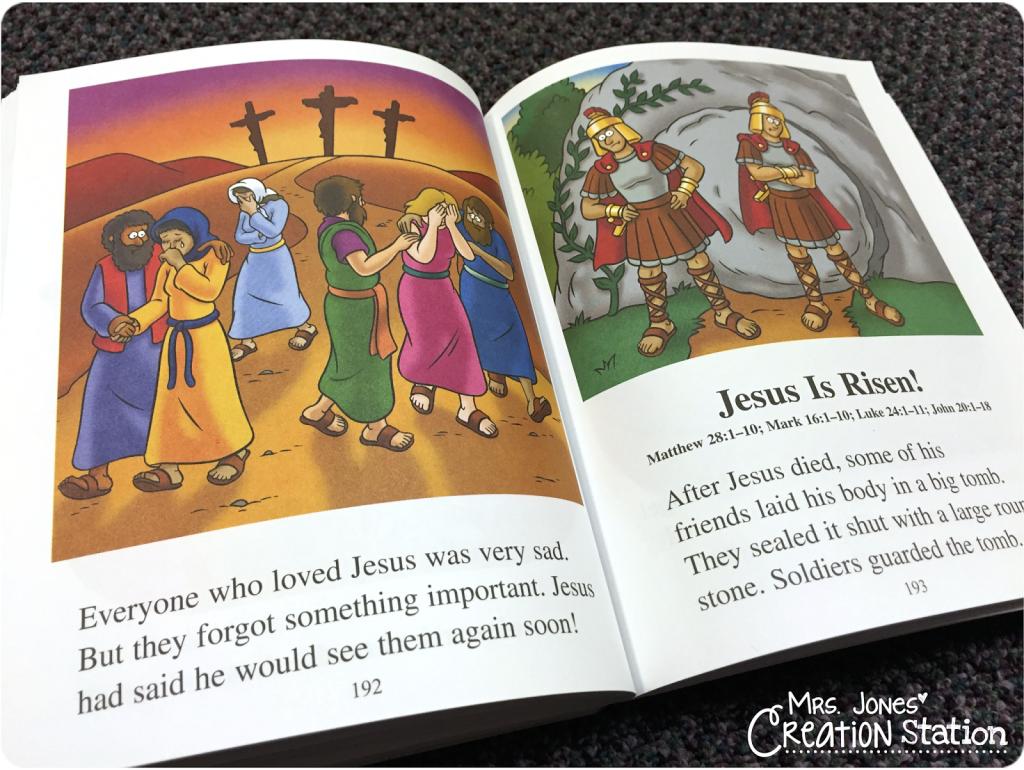 How To Teach Jesus Resurrection Preschoolers