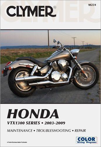 Honda Vtx1300 Service And Repair Manual Free Online Shipping Vtx1300c Vtx1300r Vtx1300s Vtx1300t Honda Clymer Motorcycle Repair