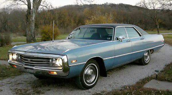 1971 Chrysler Newport Custom 4 Door Hardtop Chrysler Newport