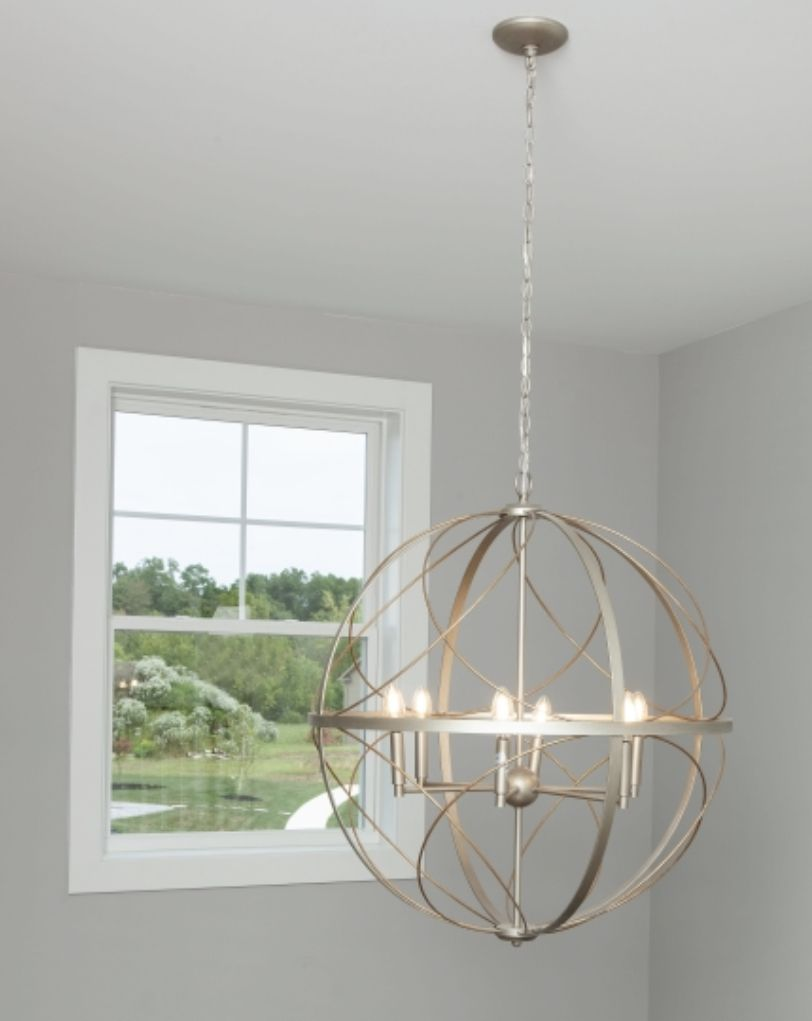 Elegant Artful Pendant Light Is Ideal For Farmhouse Or Transitional Home Design Styles Transitional House Interior Design Styles Ceiling Fan Design