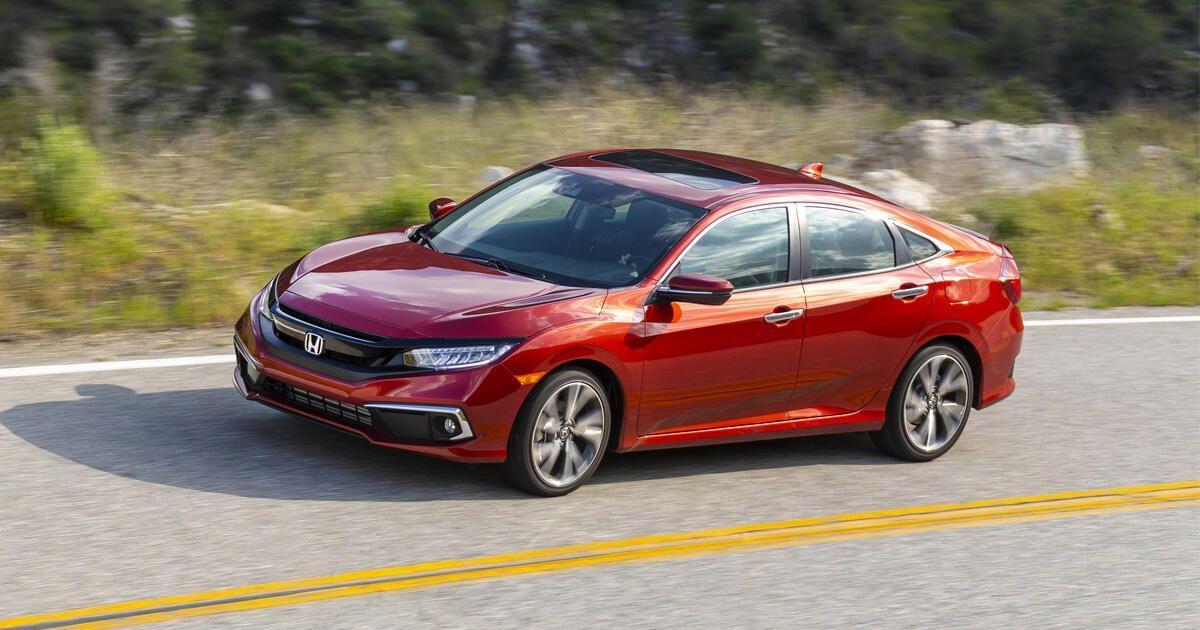 2021 Honda Civic Sedan Debuts With Small Price Bump No More Manual Honda Civic Honda Civic Sedan Civic Sedan