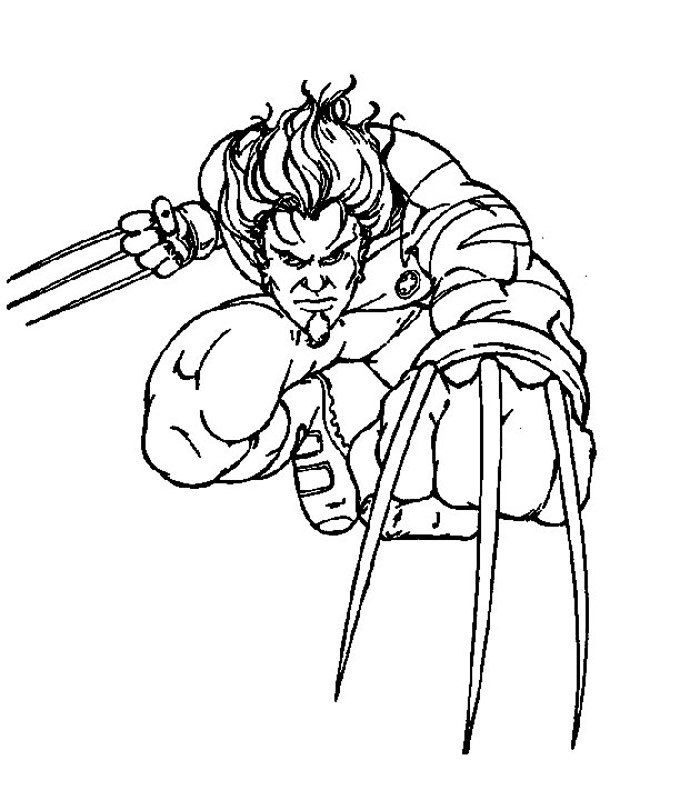 Free Printable X Men Coloring Pages For Kids Coloring Pages Coloring Pages For Kids X Men