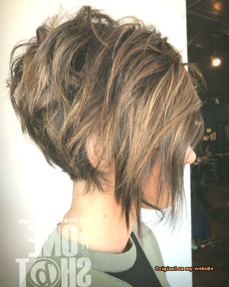Photo of Kurze Bob Frisuren 2019 – Messy Brunette Pixie Bob With Highlights – Top Of The Pins