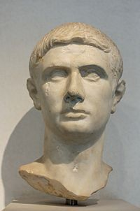 Marco Giunio Bruto - Portrait Brutus Maximus. Noble Roman bust identified with Brutus.