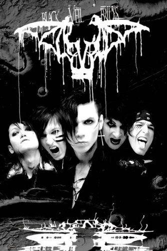 "Black Veil Brides - Music Poster (B&W - The Guys - Darkest) (Size: 24"" x 36"") Posterstoponline http://www.amazon.com/dp/B00BATSFS4/ref=cm_sw_r_pi_dp_dGMSvb18E58V6"