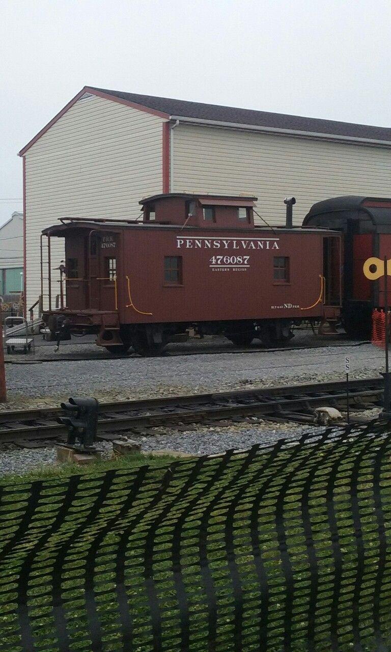 PRR Caboose Strasburg railroad, Railroad photography
