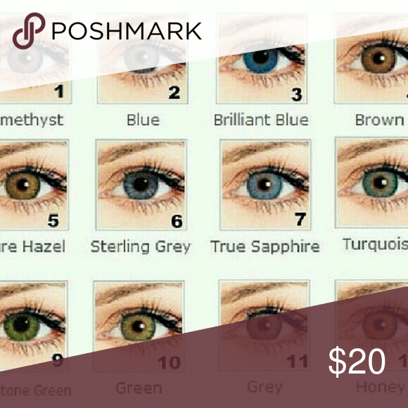 freshlooks color contact lenses one pair only in a box do not come