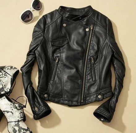 26332fd8c jaqueta feminina de couro ecologico 4 | Moda: uso, usarei... Usaria ...