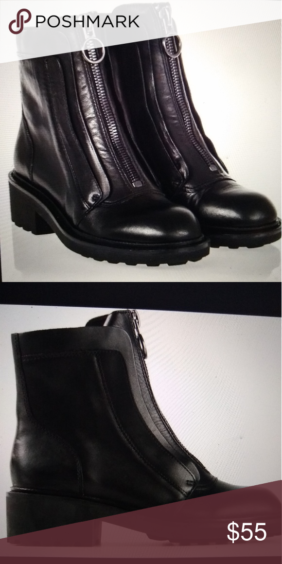 d706f52821031 ASH brand WOMEN S SPACE ANKLE BOOTS ASH brand woman s black leather moto  style boot.