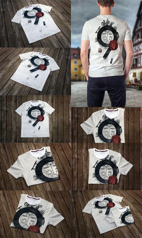 10 T-Shirt Mockups PSD » Vector, PSD Templates, Stock Images, After ...