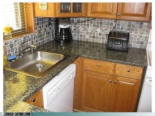 Interesting dishwasher placement. | Top Dishwashers | Pinterest ...