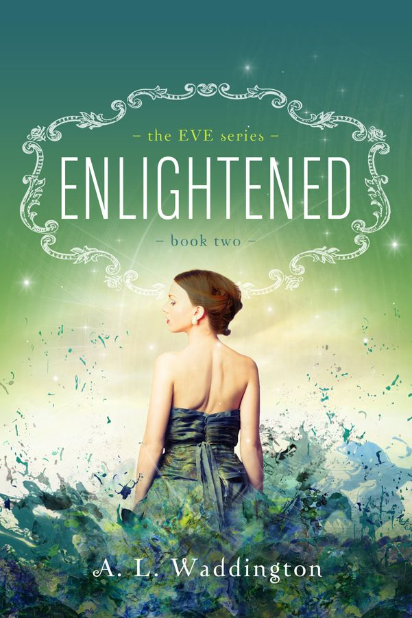 Pretty Book Cover Review ~ Enlightened eve a l waddington ooooh it s so
