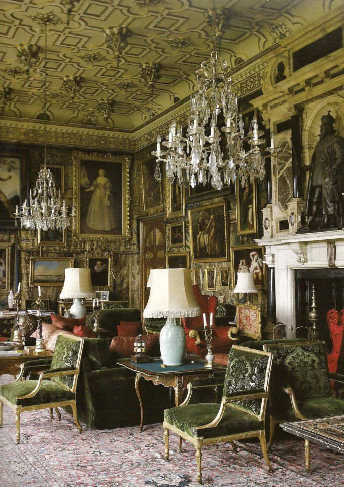 English Country House Drawing Rooms: The King James Drawing Room, Hatfield House