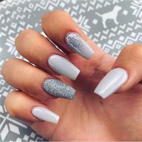 Fall Nails Acrylic