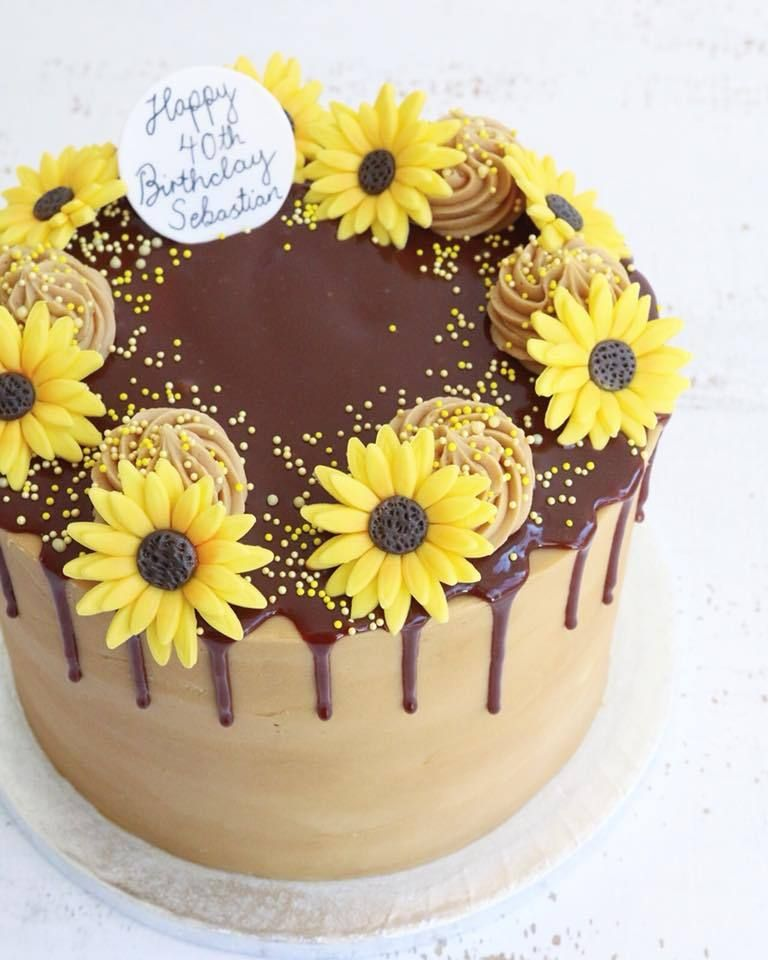 Brilliant Buttercream Drip Cakes Decoration Gateau Gateau Anniversaire Funny Birthday Cards Online Necthendildamsfinfo