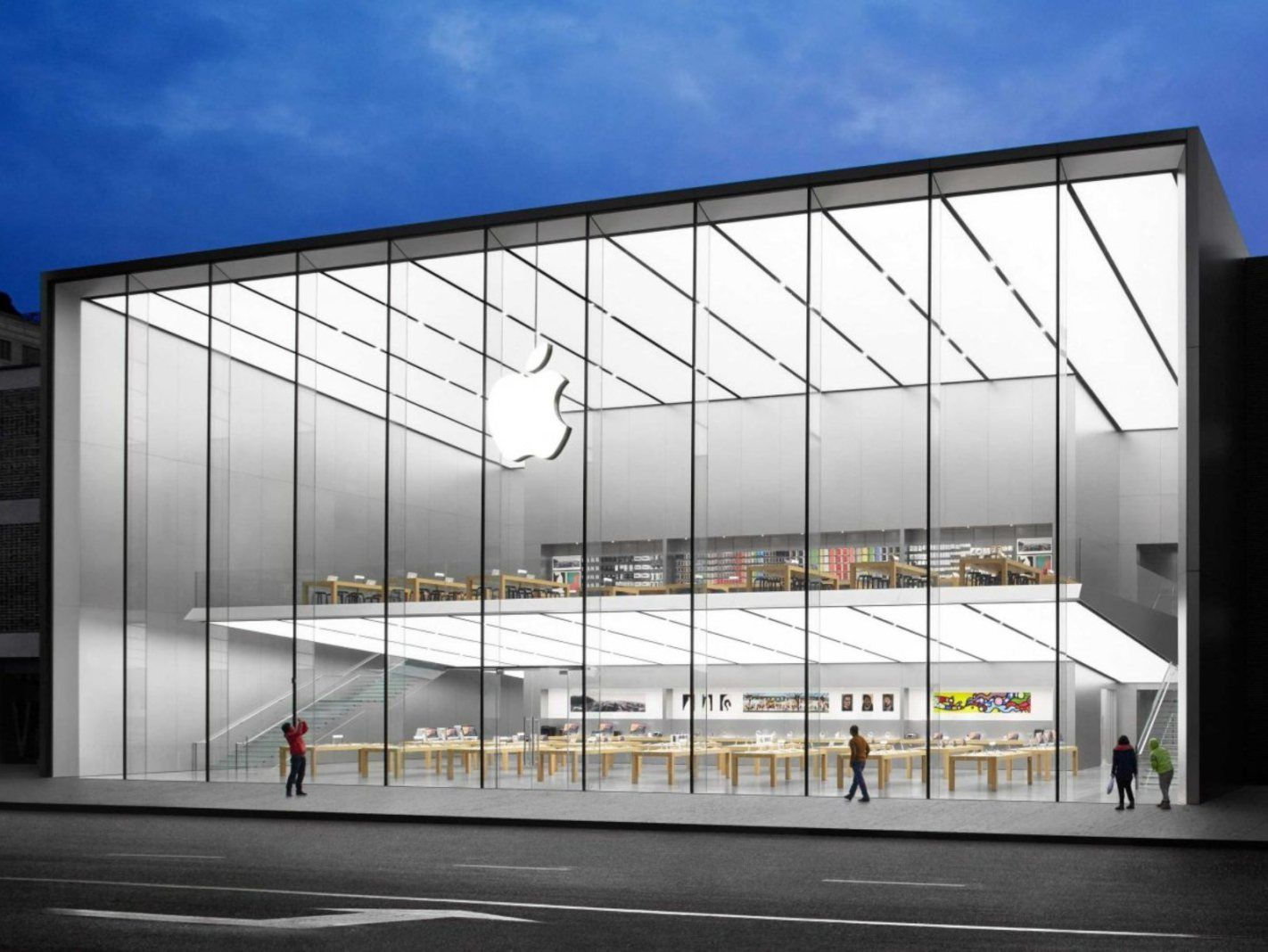 Open Apple store in China by Foster + Partners Apple