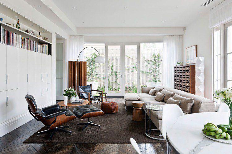 Aménagement séjour moderne \u2013 15 idées pour petits et grands espaces