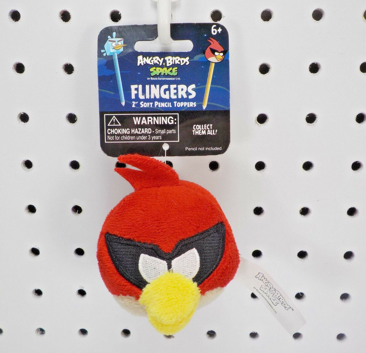 Angry Birds Space Flingers 2 Soft Pencil Topper Red - Angry Bird ...