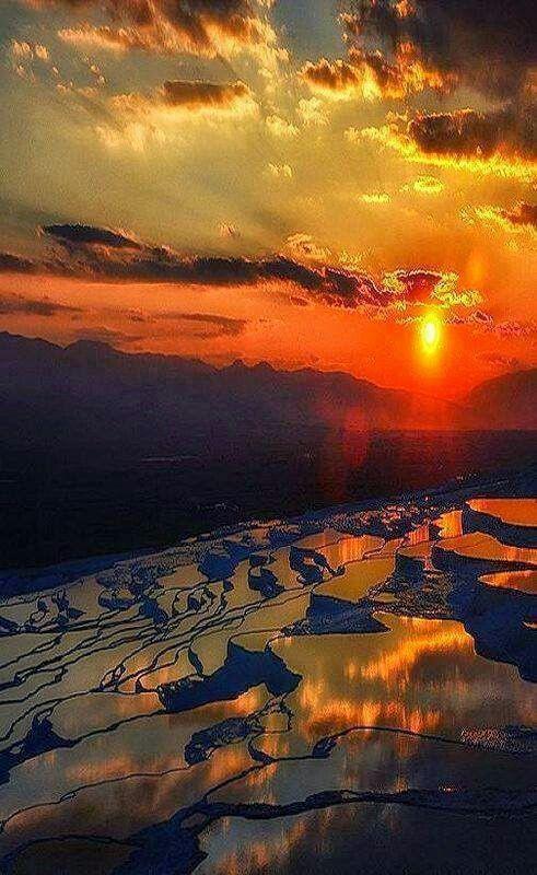 Pamukkale Thermal Pool, Turkey