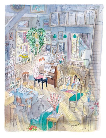 Galerie Martine Gossieaux Jean Jacques Sempe How I Remember