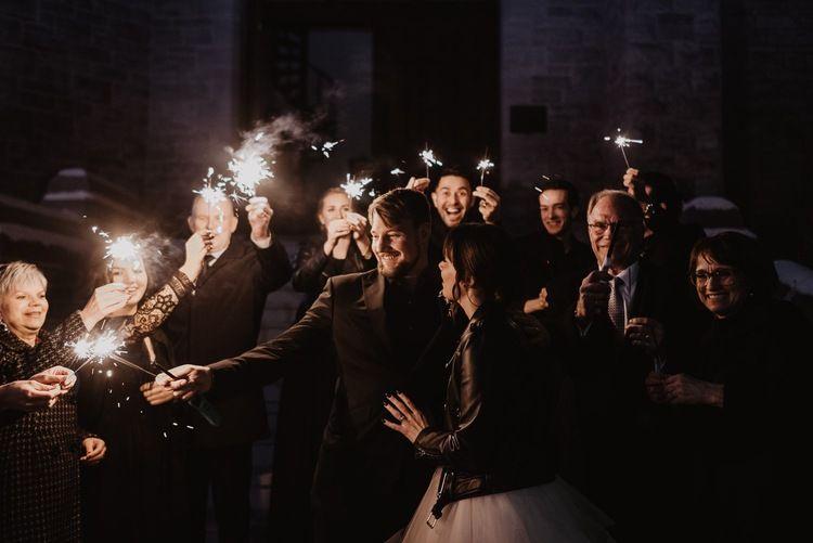 Wedding Exit Sparkler In 2020 Winter Wedding Wedding Wedding Exits