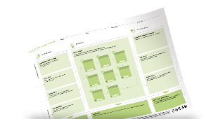 This Canvas helps you map touchpoints along your customer journey as you design a unique customer experience.