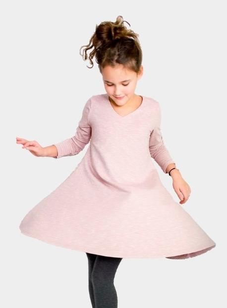 Photo of Tunika-Kleid für Kinder nähen