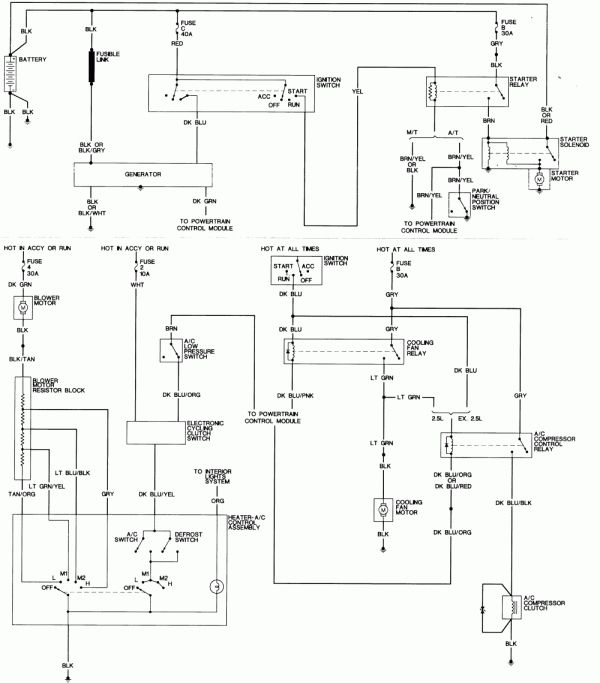 16  1992 Dodge Truck Ignition Diagram